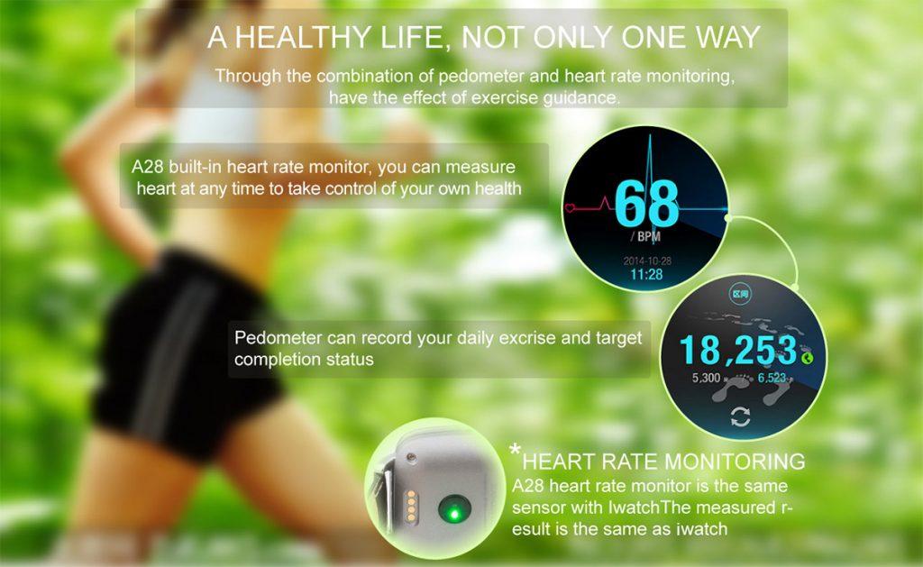 Smartwatch Oukitel A28-6