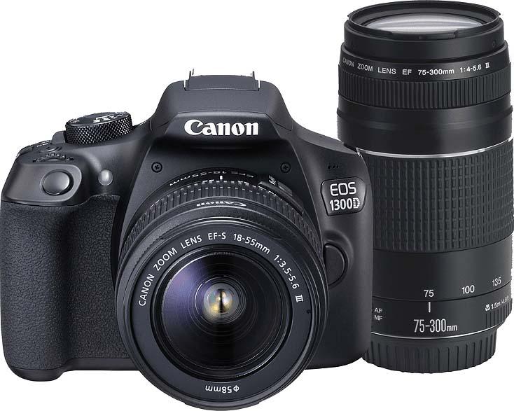 CANON-EOS-1300D-lens-18-55mm-lens-75-300mm-EGP- ekptosi-hotdealsgr (2)