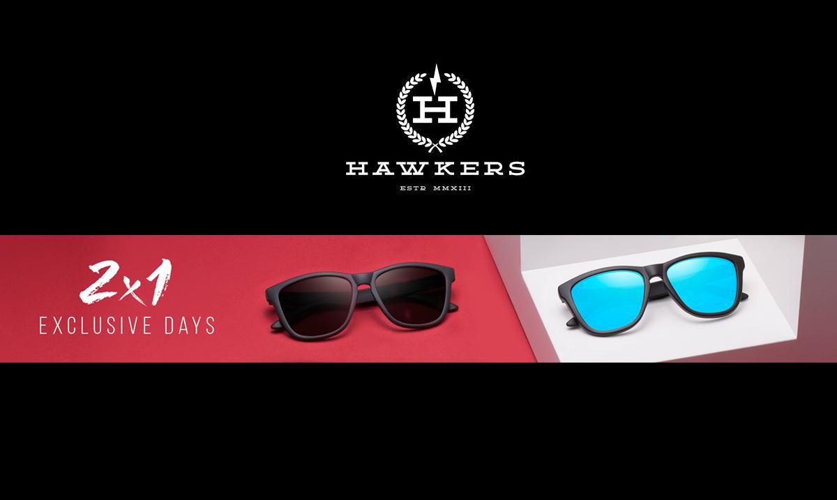Γυαλιά Ηλίου HAWKERS 1+1 Δώρο - 2 στην Τιμή του Ενός 59db8cacbed