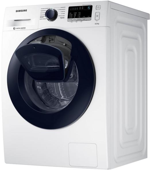 Πλυντήριο ρούχων Samsung WW80K44305W χωρητικότητας 8 κιλών και ενεργειακής κλάσης ΑAA