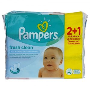 pampers-mwromantila-fresh-clean-192-temaxia-2-syn-1-dwro-