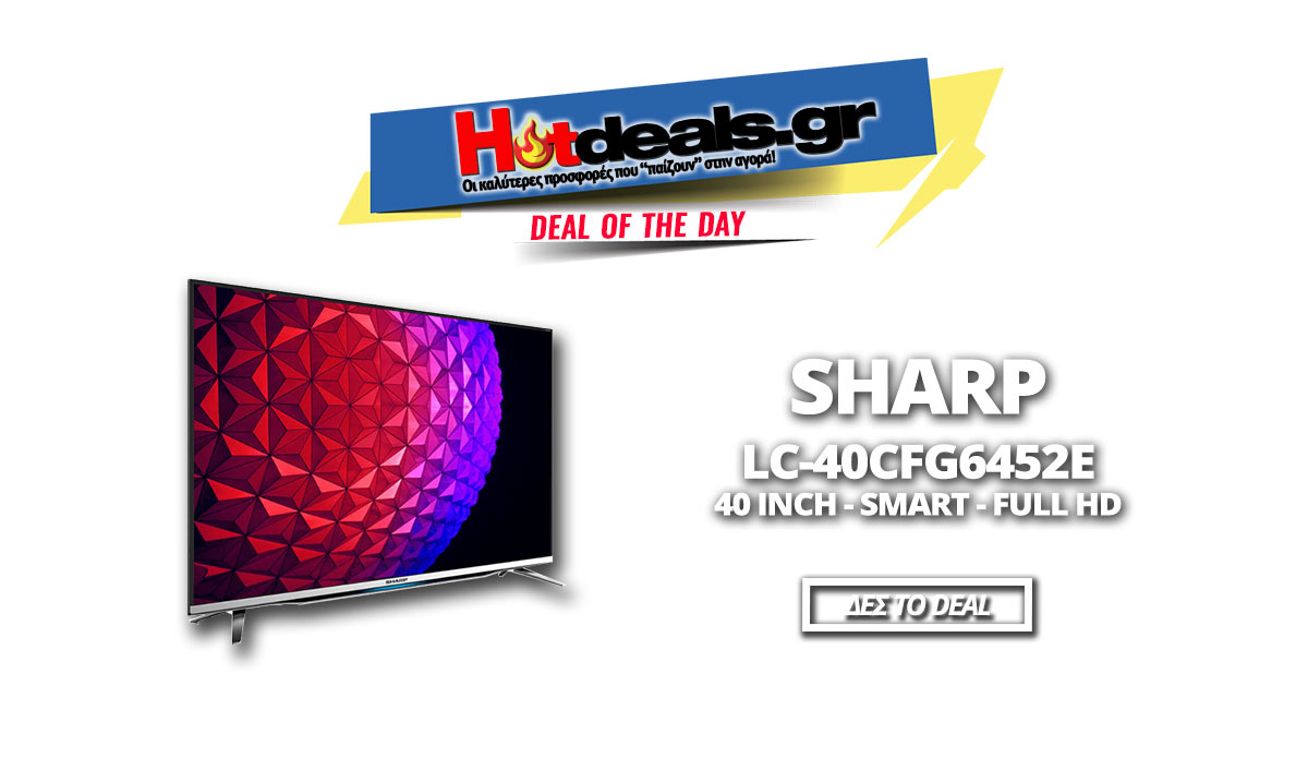 sharp lc 40cfg6452e 40 smart full hd. Black Bedroom Furniture Sets. Home Design Ideas