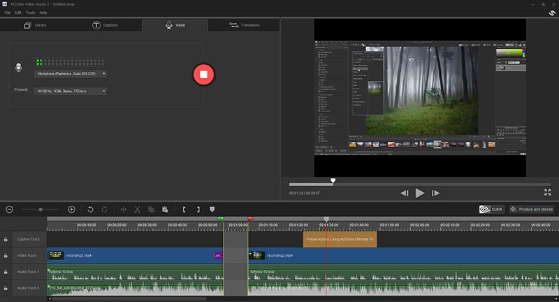 acdsee-VideoStudio2-video-editor-screen-capture-free