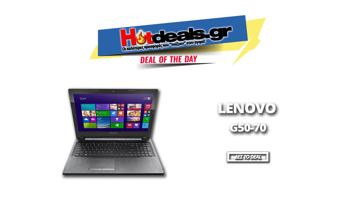 LAPTOP-LENOVO-G50-70-i3-4gb-ram-500gb-windows-8-prosfores-laptop-elenovogr-hotdealsgr