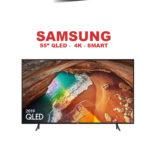 Samsung 55 QE55Q60RATXXH 4K QLED Smart-55-ΤΗΛΕΟΡΑΣΗ-BLACK-FRIDAY