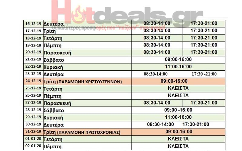 mytilhnh-oraria-eorton-anoixta-magazia-kyriakh-eortastiko-orario-2019