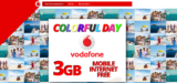Vodafone 3GB Mobile Internet ΔΩΡΕΑΝ | Vodafone Colour Day Festival | ΔΩΡΟ/FREE