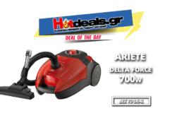 ARIETE 2738/1 Delta Force 700 W   Ηλεκτρική Σκούπα Ενεργειακή Κλάση Α   MediaMarkt   49€