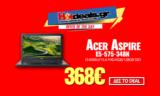 Acer Aspire E5-575-348N (15.6″ FHD/ i3-6006U/ 4GB/ 128GB SSD) | mgmanager.gr | 365.80€