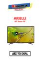 Arielli 43DN5ND | 43″ FULL HD Smart Τηλεόραση | Public 149€
