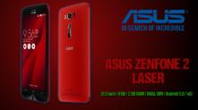 Smartphone – Asus Zenfone 2 Laser ZE500KL – (5 inch / 8 GB / 2 GB RAM / DUAL SIM / Android 5.0 / 4G) | [amazon.fr] | 111€