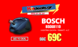 BOSCH BSG6B110 Ηλεκτρική Σκούπα | 700W – 4 Lt – Κλάση B  | Μediamarkt | 69€