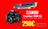 CANON PowerShot SX60 HS Black Φωτογραφική Μηχανή 16MP | MediaMarkt.gr | 298€