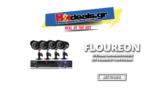 FLOUREON 1500TVL Waterproof Σύστημα Παρακολούθησης με 4 Κάμερες 1080p + Ανιχνευτή Κίνησης + LIVE σε Android+ Ειδοποίηση με Email  | gearbest.com | 48€
