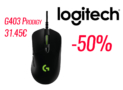 Gaming Mouse Logitech G403 Prodigy | Black Friday MediaMarkt | 28€