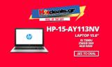 HP 15-AY113NV Laptop i5 7200U / 4GB RAM / 256GB SSD | mediamarkt | 549€