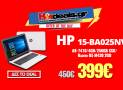 HP 15-BA025NV Quad Core A8-7410/4GB/256GB SSD/ Radeon R5 M430 2GB | Laptop 15.6″ FULL HD | MediaMarkt | 399€