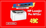 HP LaserJet Pro M12a Εκτυπωτής | Laser Μονόχρωμος Printer | Public.gr | 49€