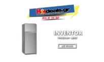 INVENTOR INVMS207A2G Ασημί | Ψυγείο Δίπορτο Α++ 207 Λίτρα | Mediamarkt | 219€