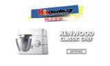 KENWOOD Classic Chef KM336 | Κουζινομηχανή / 800W / 4.6L | Μediamarkt | 199€