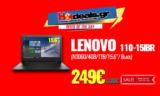 LENOVO 110-15IBR (N3060/4GB/1TB/15.6″/ Black) | MediaMarkt | 249€