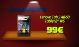 LENOVO Tab 3 A8-50 Black Tablet 8″ (2GB RAM/16GB/Quad Core/GPS) | Public | 99€