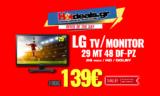 LG 29MT48DF-PZ Monitor – Τηλεόραση 29″ HD | MediaMarkt | 139€