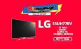 TV LG 55UH770V Τηλεόραση Smart 55 | UHD 4K IPS Harman Kardon | MediaMarkt | 699€