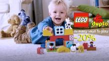 LEGO® Duplo Παιχνίδια | Προσφορά -20% στα Lego Duplo Τουβλάκια | publicgr
