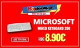 MICROSOFT WIRED KEYBOARD 200 | Πληκτρολόγιο Microsoft 50% Έκπτωση | Eshop | 8.90€