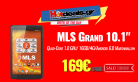 "MLS Tablet Grand 4G 10.1"" Quad-Core 1.0 GHz/ 16GB/4G/Android 6.0 Marshmallow 