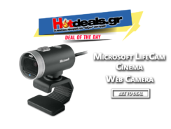 Microsoft Lifecam Cinema | Web Κάμερα 360 Μοίρες/720p   | germanos.gr | 24.90€
