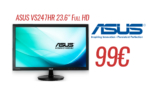 Asus VS247HR 23.6″ Full HD (Παραλαβή από κατάστημα) | MediaMarkt | 99€