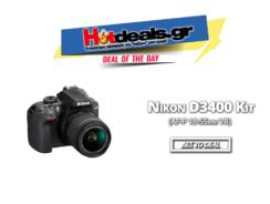 Nikon D3400 Kit DSLR (AF-P DX 18-55mm f / 3.5-5.6G VR) | you.gr | 379€