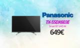 PANASONIC TX-55DX603E Smart Τηλεόραση 55″ UHD 4K | MediaMarkt | 649€