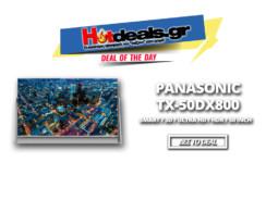 PANASONIC TX-50DX800   4K 50 inch SMART TV   UHD – 3D – HDR   germanos.gr   699€