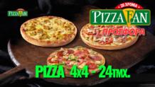 Προσφορά Efood Πίτσα 4×4 (24τμχ.) μόνο 15€ | Efood Pizza Fan |