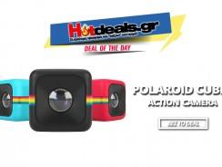 Action Camera Polaroid Cube+ (HD Wi-Fi – Κάρτα Μνήμης 8GB – Βumper) | public.gr | 70€