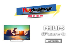 Philips 65PUS6162 65″ Τηλεόραση Smart 4K TV 65 inch | Kotsovolos.gr | 659.40€