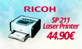 RICOH SP 211 Εκτυπωτής Μονόχρωμος Laser | eshop | 44.90€