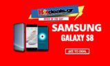 SAMSUNG Galaxy S8 – (Samsung SM-G950F) (5.8inch/QuadCore/64GB/4GB RAM/12MP/Android 7)   mediamarkt   829€