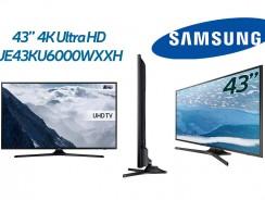 Τηλεόραση Smart 43″ 4K SAMSUNG UE43KU6000WXXH   Ultra HD + HDR   MediaMarkt   444€