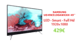 "SAMSUNG UE49K5100AWXXH 49"" Τηλεόραση LED TV | Full HD | MediaMarkt | 429€"