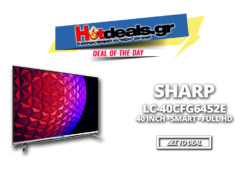 SHARP LC-40CFG6452E | 40″ Smart Τηλεόραση FULL HD Προσφορά | Μediamarkt | 299€