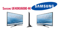 "SMART 4K TV SAMSUNG UE40KU6000 UHD 40"" | germanos | 329€"