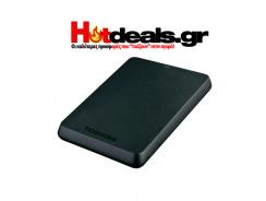 Toshiba Canvio Basics 1TB 3.0 2.5 Black HDD Εξωτερικός Σκληρός Δίσκος | kotsovolos | 50€
