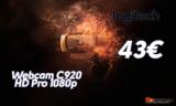 Webcam Logitech C920 HD Pro 1080p | amazoncouk | 43€
