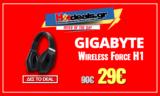 Gigabyte Force H1 Bluetooth | Ασύρματα Ακουστικά + Μικρόφωνο  | amazon.co.uk | 29€