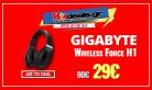 Gigabyte Force H1 Bluetooth   Ασύρματα Ακουστικά + Μικρόφωνο    amazon.co.uk   29€