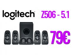 LOGITECH Surround Sound Speakers Z506 5.1 | multirama | 79€
